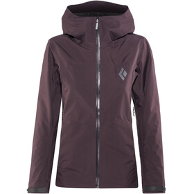 Black Diamond W's Liquid Point Shell Jacket Bordeaux